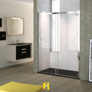 mampara de ducha modelo Ebro 2