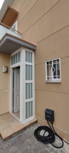 Instalación de 7 Rejas y Puerta aluminio en Montroig