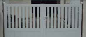 Puerta PVC vehiculos